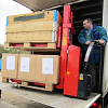 Twin Stacker Handles Two Pallets