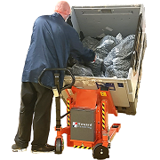 Crate Tilters, Pallet Dolav Rotators, Reel Rotator & Tippers